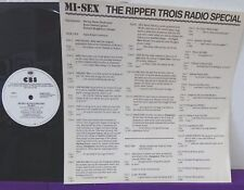 MI-SEX The Ripper Trios Radio Special INTERVIEW + Song Tracks PROMO Computer Gam
