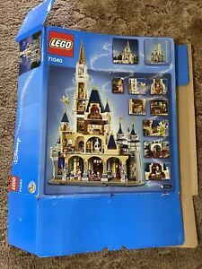 Empty Box Only - LEGO Disney Princess The Disney Castle (71040)