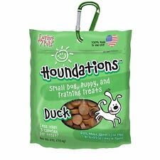 Loving Pets 8153 Houndations Duck Training Treats Dog Treat, 4 oz