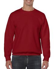 Gildan Men's Heavy Blend Crewneck Sweatshirt - X-Large - Cardinal Red