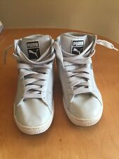 MENS' PUMA FIRST ROUND S MIX GLACIER GRAY SIZE 9.5 FASHION SNEAKERS (PRE-OWNED)