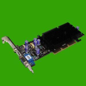 Nvidia Geforce MX4000 64 MB AGP Grafikkate VGA / TV out