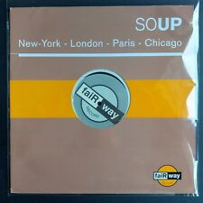 "Soup ‎– New York - London - Paris - Chicago (Vinyl, 12"", MAXI 33 TOURS)"