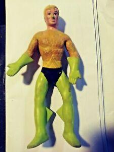 Mego AQUAMAN Bend 'n Flex Bendie Action Figure Toy DC Comics Justice League 1973
