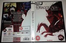 DRAGON AGE ORIGINS - PC DVD ROM - BIOWARE - 18+ 2009