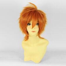 K Project anime cosplay peluca Wig de Yata Misaki brevemente Orange