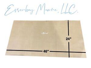 "Marine Grade Padded Vinyl Brisa Heritage with White Scout Logo 46"" x 24"""