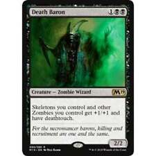 1x DEATH BARON - Skeleton Zombie - MTG - M19 - NM - Magic The Gathering