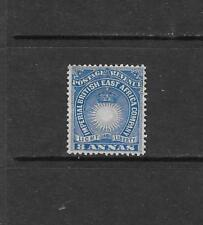 1890 Queen Victoria SG12 8a Blue  Mint Hinged BRITISH EAST AFRICA