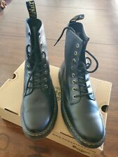 Dr. Martens  Leather Boots for Women, Size US 11 - Black -