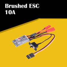10A Brushed ESC Two Way Motor Speed Controller for 1/16 1/18 1/24 RC Car