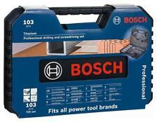 Bosch Titanium Professional Drill Bit Set 103pcs Screwdriver Mixed Set Accessory