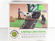 Bachmann HO Scale 1:87 Animated Cattle Crossing Item# 1434 Factory New - Sealed