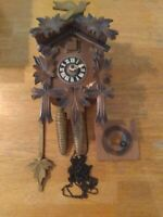 30 Hrs Cuckoo Clock   Parts Or Repairs