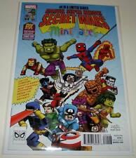 SECRET WARS # 4 Marvel Comic Minimates PX SAN DIEGO COMIC-CON VARIANT COVER