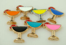 Wholesale 10pcs Floating Charms GOOD QUALIT for Glass Living Memory Locket dL66