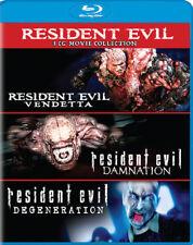Resident Evil: Damnation/Resident Evil: Degeneration/Resident Evil:Vendetta [New
