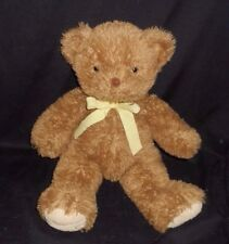 "17"" BIG CARTER'S PRESTIGE BROWN BABY TEDDY BEAR STUFFED ANIMAL PLUSH TOY 20371"