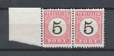 Nederlands Indië Port  6 C + B III tandingspaar (1)