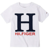 tommy hilfiger Baby Boys Jason T-Shirt Size 12 Months White