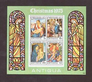Antigua Souvenir Sheet  # 401a Mint Never Hinged (1975)
