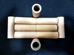 10PCS Strong Paper Roll Core for Crafts & Hobbies - 57mm x 20mm