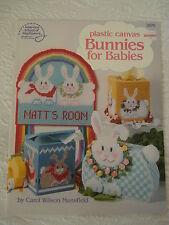 Bunnies for Babies Plastic Canvas Patterns Rabbit NURSERY DECOR Tissue Box Cover