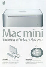  Vintage Apple •brochure• Mac mini (original G4) circa 2005 collectable AU