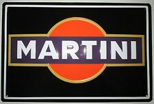 MARTINI - LOGO, BLECHSCHILD, COCKTAIL