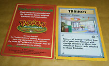 POKEMON BLACK STAR PROMO CARD - #40 POKEMON CENTER (SEALED) - ULTRA RARE