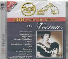 Las Vecinas CD NEW 100 Anos De Musica ALBUM Con 40 Canciones SEALED