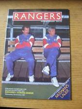 21/10/1987 Rangers v Gornik Zabrze [European Cup] (No apparent faults).