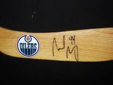 Sheldon Souray Signed Edmonton Oilers Stick Blade PROOF