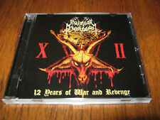 "BURIAL HORDES ""12 Years of War and Revenge"" CD  dead congregation enshadowed"