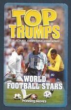 Sudadera TRUMPS-2006-WORLD Fútbol Stars-David Beckham-Veron-Rivaldo