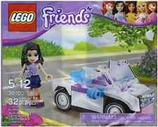 Brand New Lego - Emma And Car (2012) - Friends - 30103 - Lego Promo Polybag