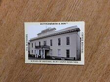 m6-1 trade card butterworth & son bury saint edmunds no 10