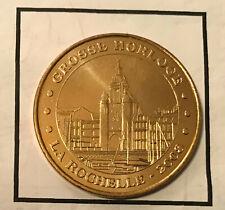 MONNAIE DE PARIS MEDAILLE JETON TOURISTIQUE EVM MDP LA ROCHELLE 2008 HORLOGE