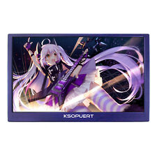 """4K 3840x2160 LCD Monitor 15.6""""HDMI Input With Speaker For  Extra Game Monitor"""