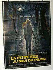 AFFICHE CINEMA : LA PETITE FILLE AU BOUT DU CHEMIN 1976 (120x160)