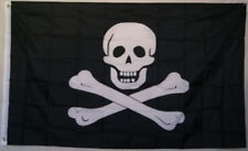 Jolly Roger Pirate No Eyepatch Polyester Flag