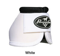 White Professional's Choice Ballistic No Turn Overreach Bell Boots M Medium Pro