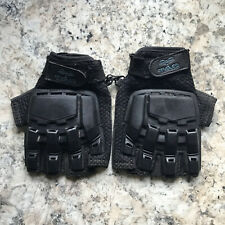 Valken Tac Paintball Gloves finger-less Black (Xl Xxl adjustable) Hardback