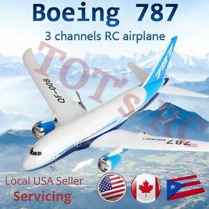 QF008 Boeing 787 Airplane Mini Model RC Plane 3CH 2.4G RC EPP RTF w/ 6 axis Gyro
