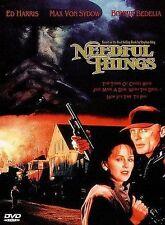 NEEDFUL THINGS (DVD) Max von Sydow, Ed Harris, RARE OOP                       a1