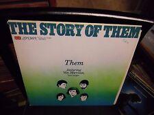 THEM The Story OF [Van Morrison] LP 1977 London Records VG+