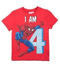Kids Camiseta Niños Marvel Spiderman Gr Manga Corta 92 98 104 110 116 128 140
