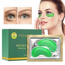 Freshme Matcha Eye Mask - 20 Pairs Under Eye Patches Aloe Vera Extract Gel Masks