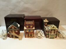 Department 56 Disney Parks Village Olde World Antiques I&Ii And Fire Department