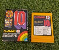 Channel F Videocart-10 Fairchild System Maze & Variations Cat & Mouse Jailbreak